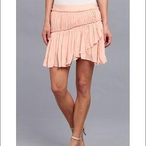 """Paige """"Mari"""" SZ Med Ballet Pink ruffle skirt"""